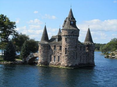 Boldt Castle On Thousand Islands