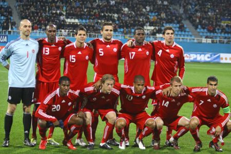 Canadian Men's National Soccer Team