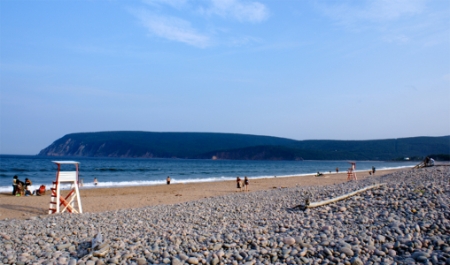 Ingonish Beach, Cape Breton Island, Nova Scotia