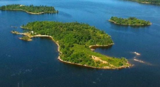Lake Of The Woods Island - Ontario, Canada