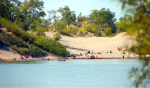 Sandbanks, Prince Edward County, Ontario