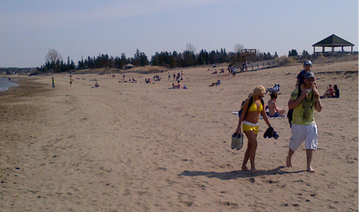 Parlee Beach, Shediac, New Brunswick